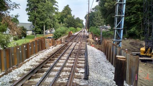 Sheet Piling Railroad