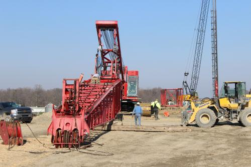Crane Assembly 250 Ton US 31 South Bend Indiana