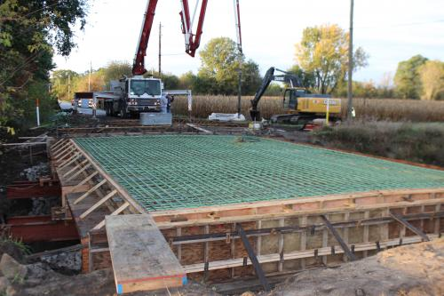 Deck Pour Starke County Indiana
