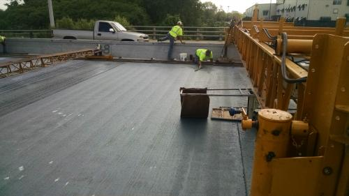 Latex Overlay on SR 55 Crown Point, Indiana - 2015